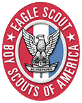 Logo Recognizing Todd Law Firm's affiliation with Boy Scouts of America: Eagle Scout